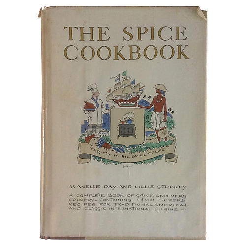 The Spice Cook Book, 1964 First Edition
