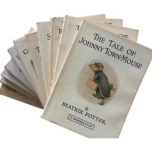 Beatrix Potter Tiny UK Books, S/23