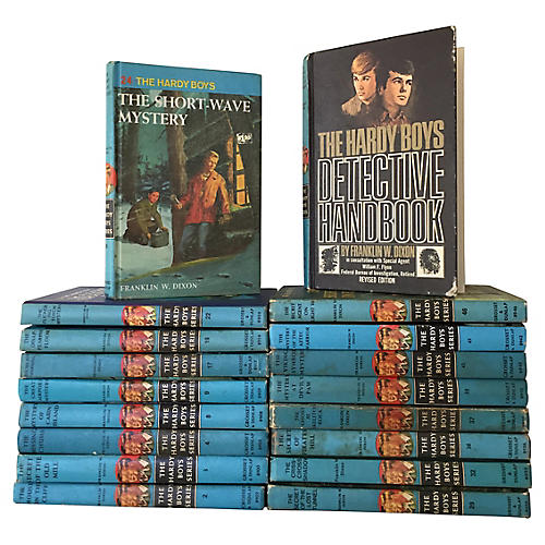 Hardy Boys Detective Books, S/18