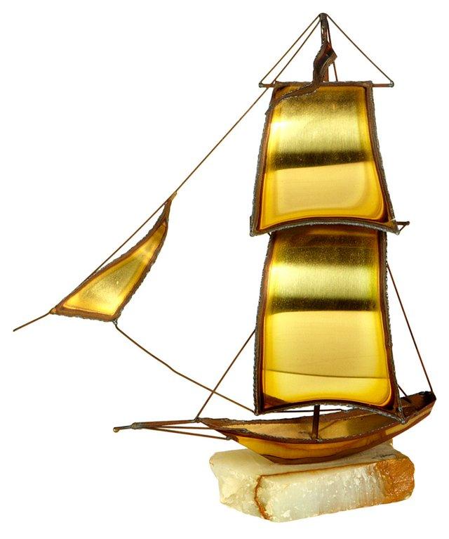 1960s  Ship Sculpture