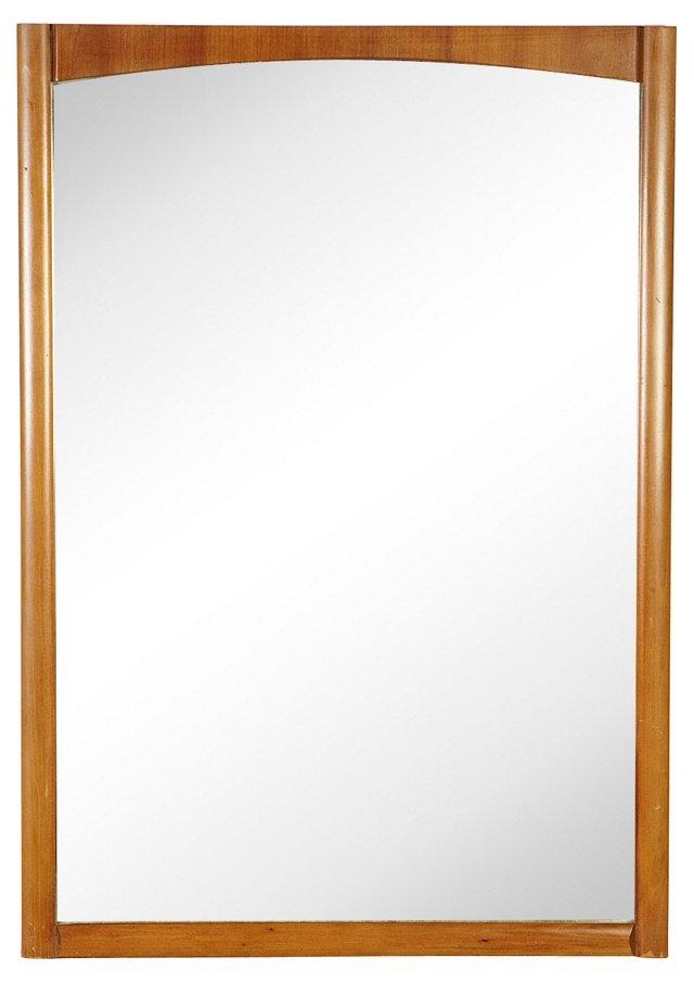 1950s Drexel Walnut Mirror