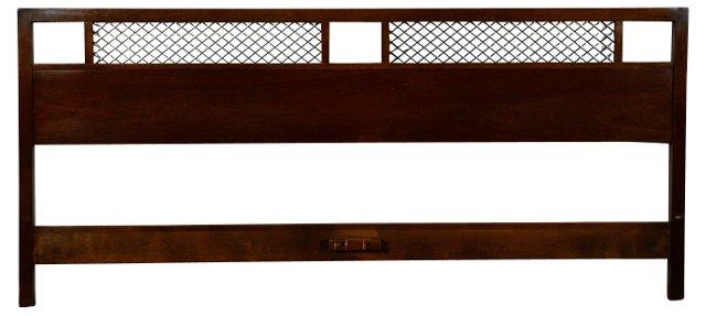 Midcentury R-Way Headboard, King-Size