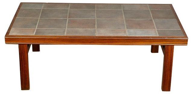 Danish Rosewood Tile-Top Table