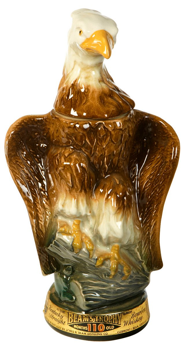 1960s Eagle Whiskey Decanter