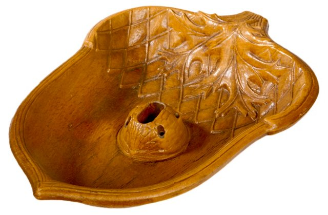 1960s Acorn Nut Serving Dish