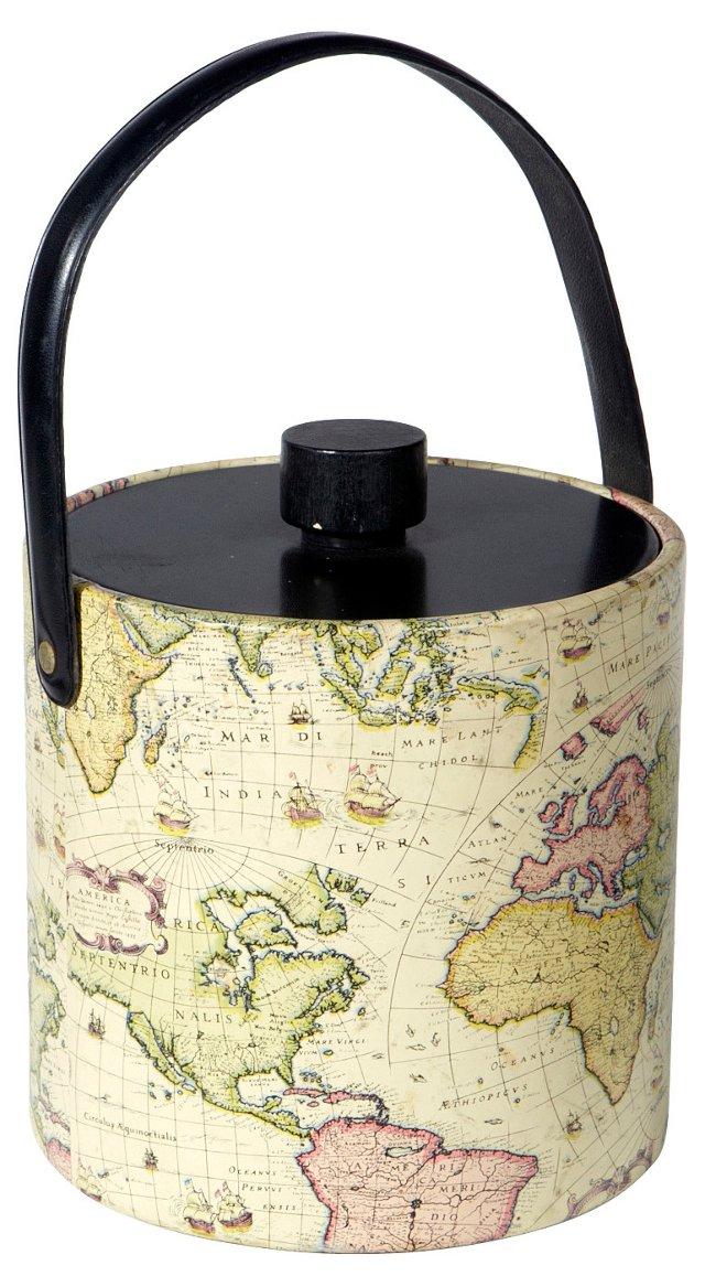 1960s Globe Ice Bucket