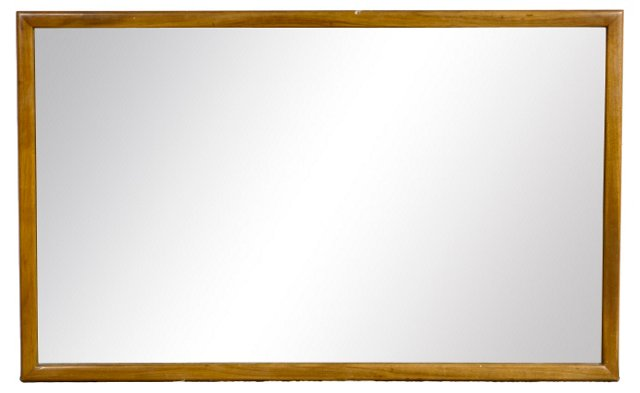 Mahogany Rectangular Mirror