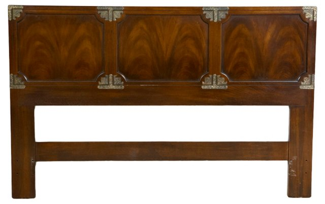 James Mont Asian-Style Headboard, Queen