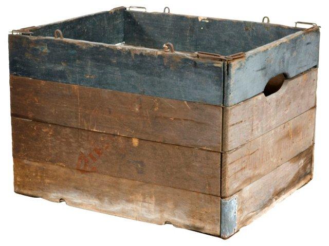 Wood Utility Box