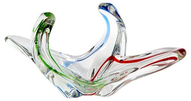 Murano Multicolor Glass Bowl