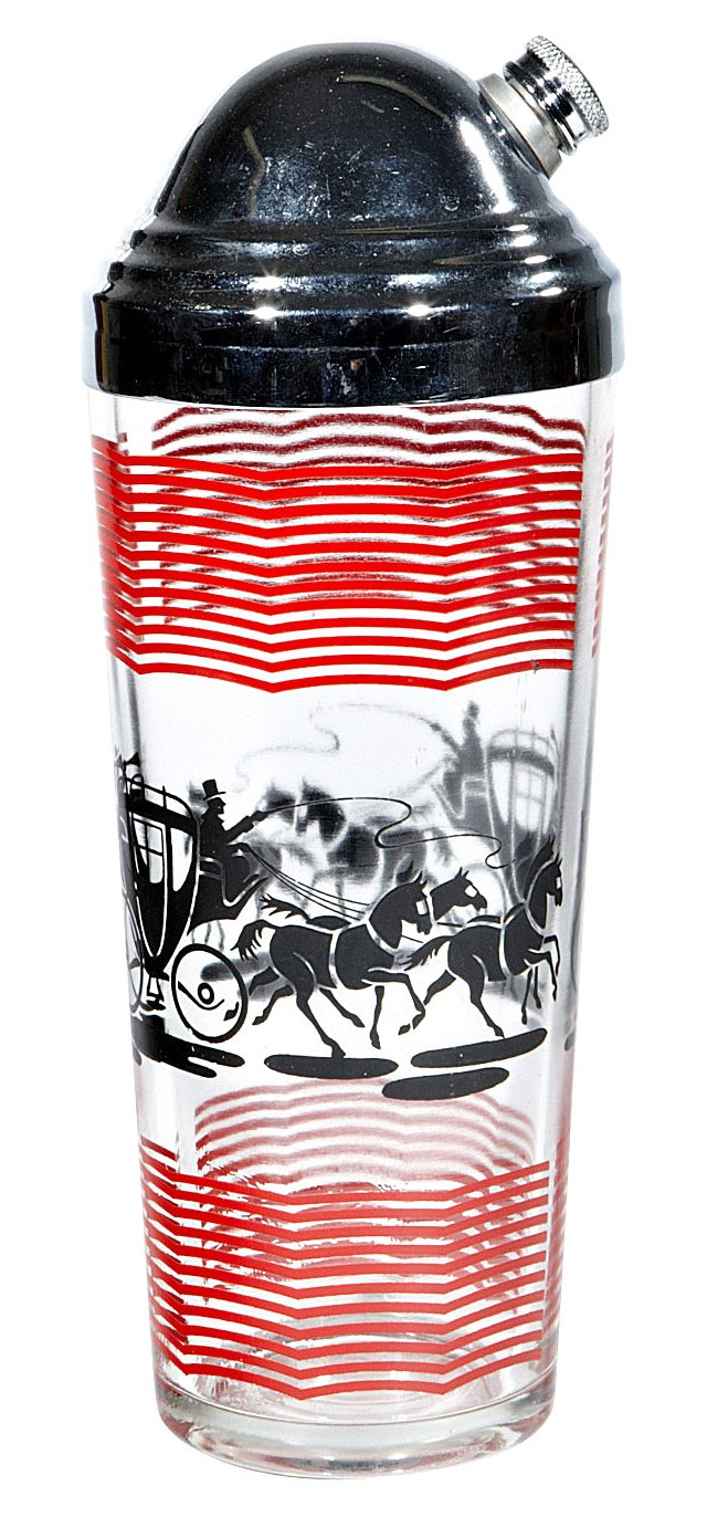 Horse & Carriage Cocktail Shaker