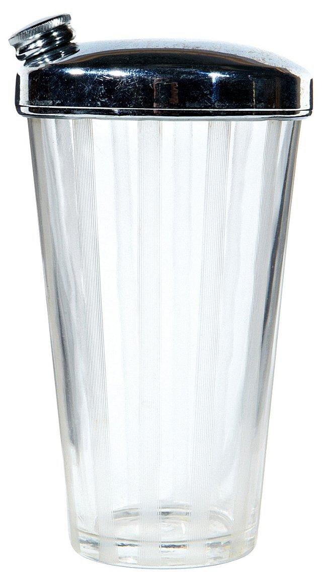 Art Deco-Style Glass Shaker