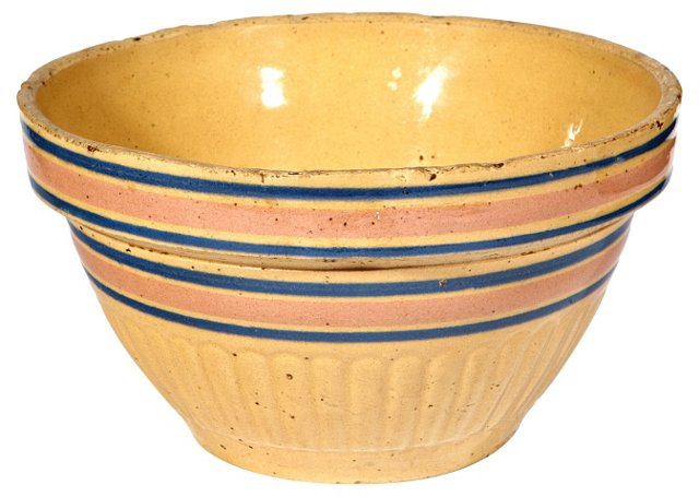 Banded Country Mixing Bowl
