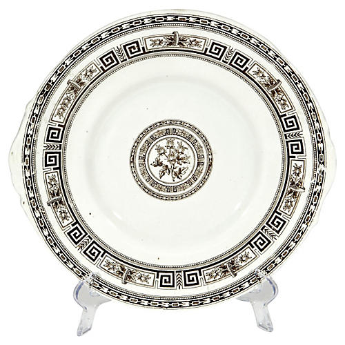 English Doulton's Ironstone Plate
