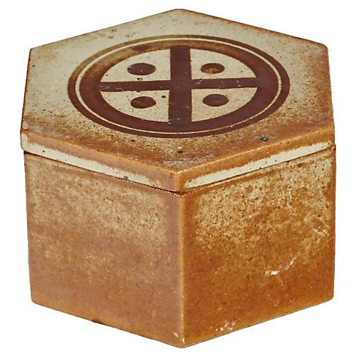 Dansk Ceramic Trinket Box