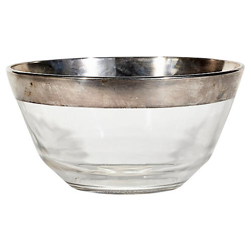 Dorothy Thorpe Platinum Banded Bowl