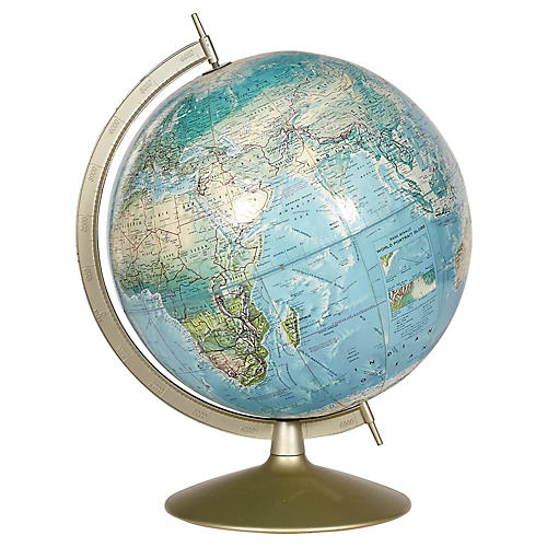 1960s Rand McNally Table Top World Globe