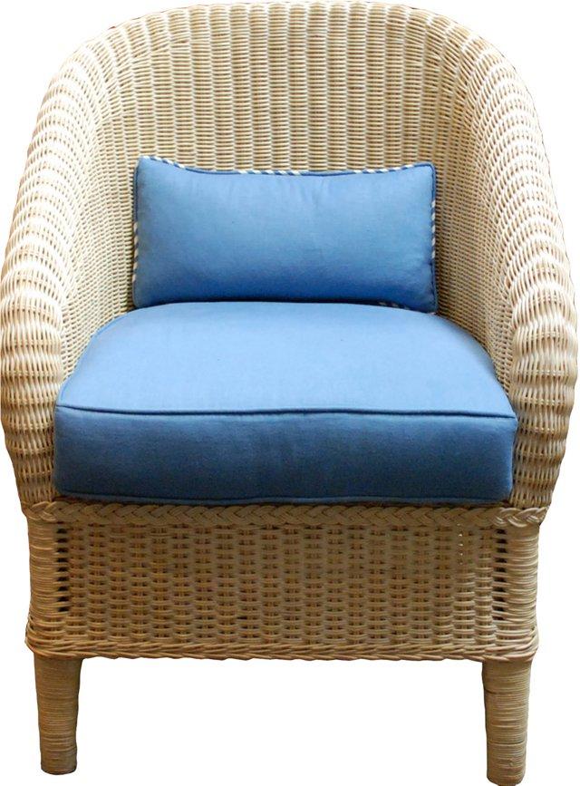 Indonesian Wicker Chair