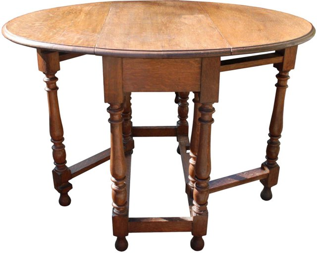 English Drop-Leaf Table