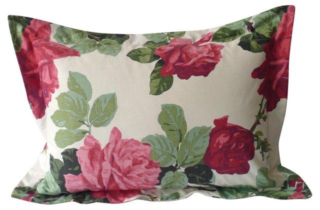 Rose Print    Pillow
