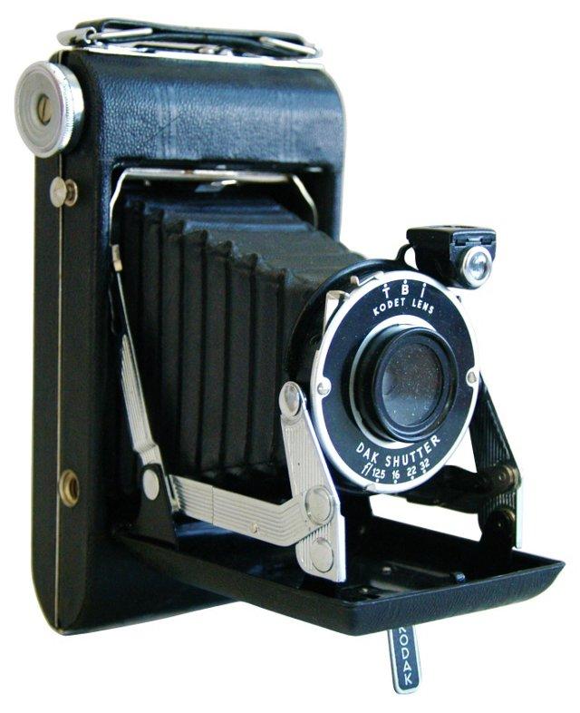 Early-20th-C. Kodak  Folding Camera
