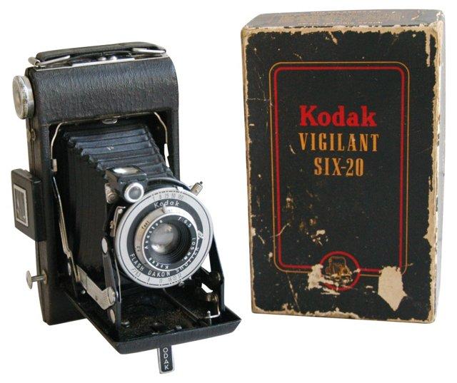 Kodak Vigilant Folding Camera w/ Box