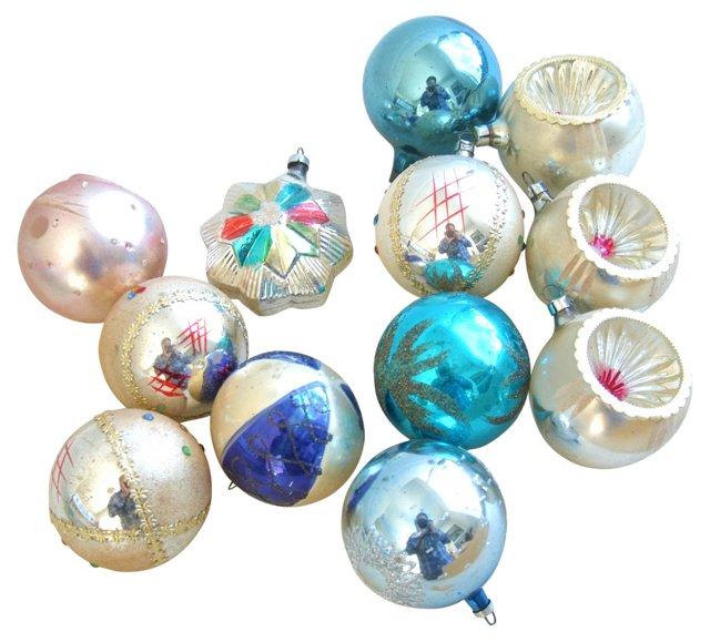 1960s  Ornaments, S/12