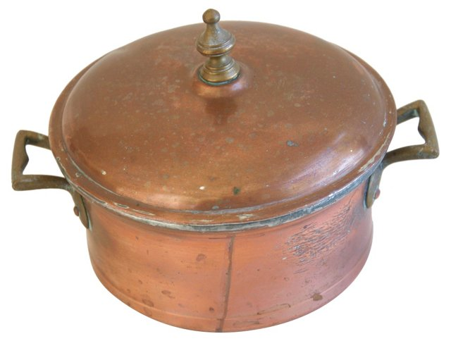 Schwabenland Copper Sauce Pot & Lid