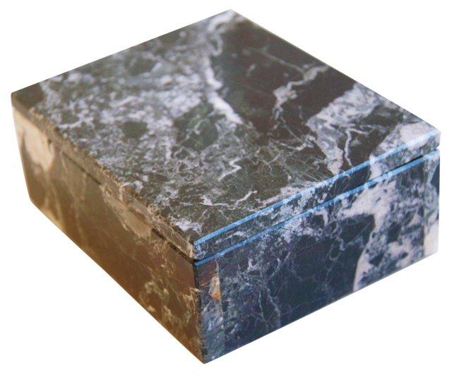 Italian Marble Keepsake Box