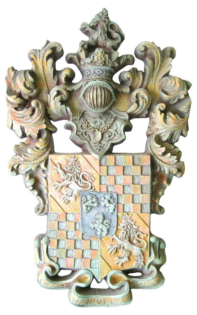Vanguard Studios Coat of Arms Plaque