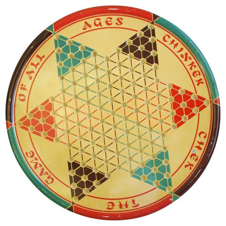 1950s Chinese Checkerboard