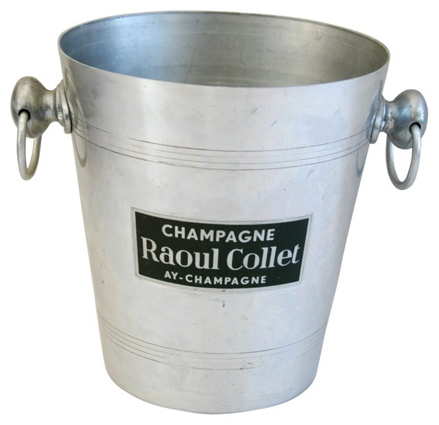 French Raoul Collet Champagne Bucket