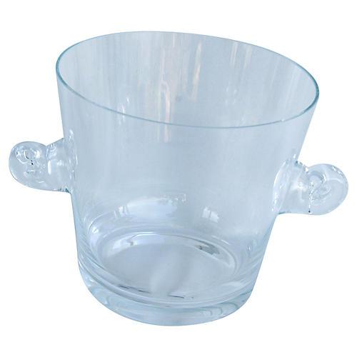 Tiffany & Co. Glass Champagne Bucket
