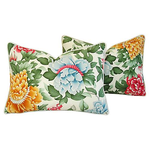 Brunschwig Fils Lahore Pillows, Pair