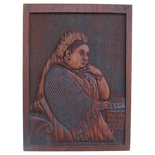 Queen Victoria of England Plaque