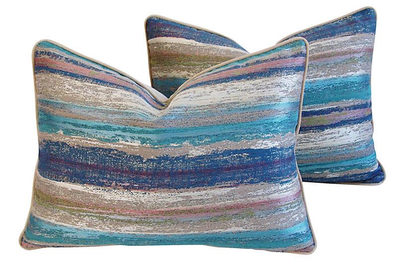 Old World Weavers Marine Pillows, Pair