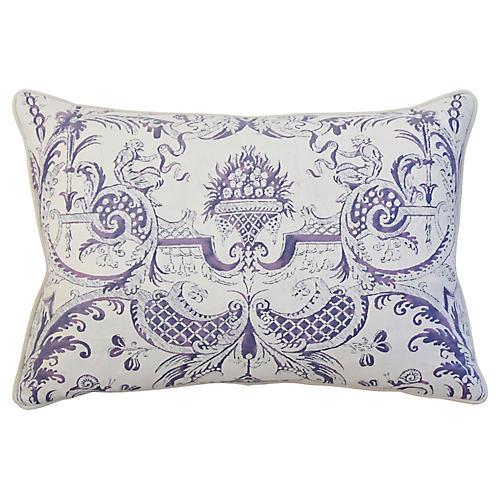 Fortuny Mazzarino & Velvet Pillow