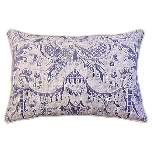 Fortuny Mazzarino & Velvet Pillow