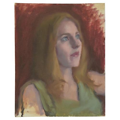Female Portrait Oil Painting Study