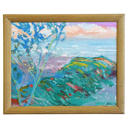 Juan Guzman Ventura Ocean/Beach Painting