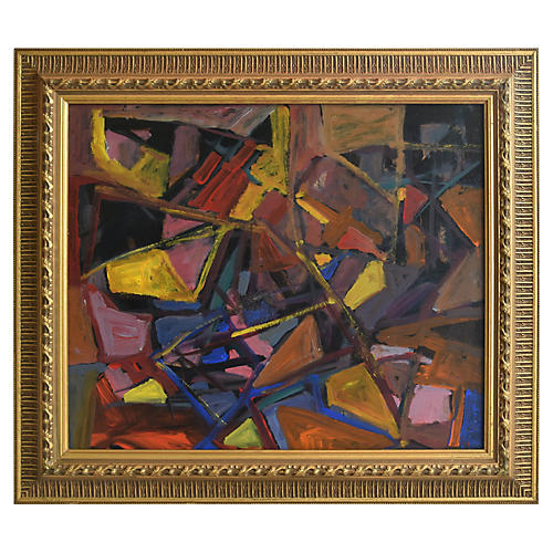 Juan Guzman Colorful Abstract