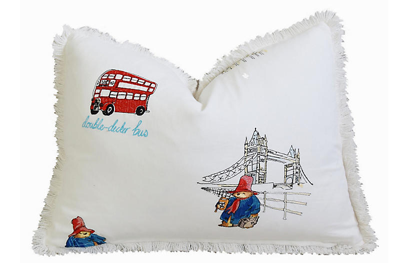 Jane Churchill London Sights Pillow