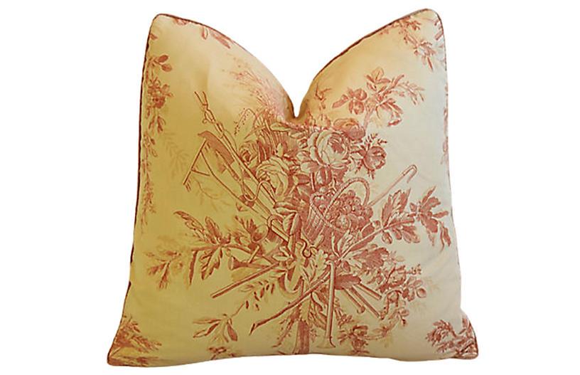 Beaumont & Fletcher Botanical Pillow
