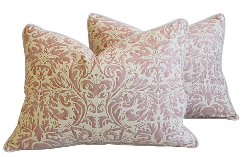 Mariano Fortuny Lucrezia Pillows, Pair