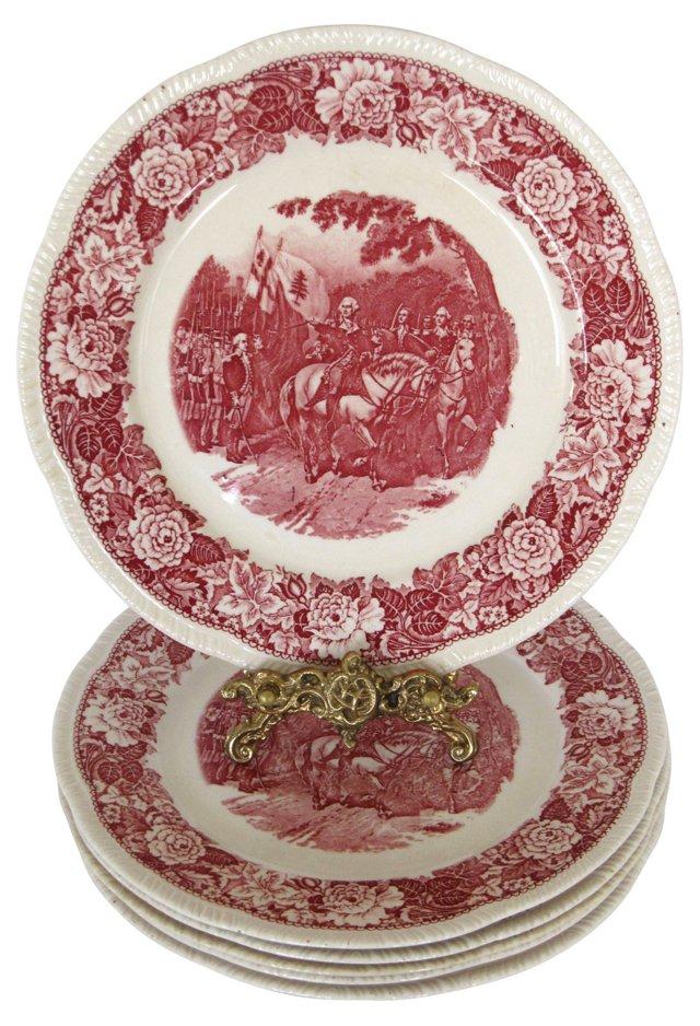 Historical Washington Plates, S/6