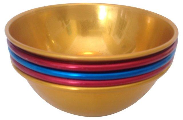 Aluminum Bowls,  S/5