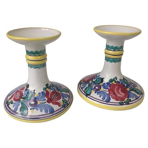 Italian Candlesticks, S/2