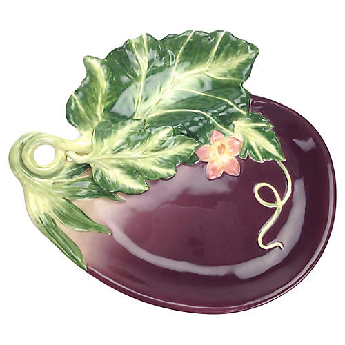 Fitz & Floyd Eggplant Platter