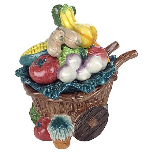 Fitz & Floyd Vegetable Lidded Catchall