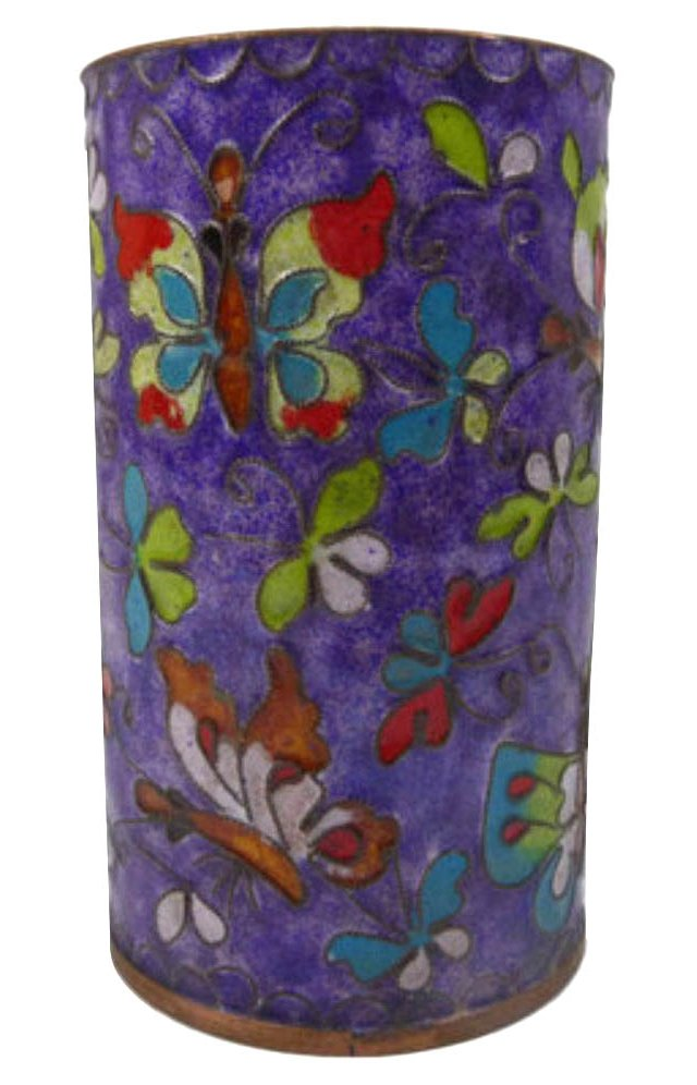 Cloisonné Brush Pot